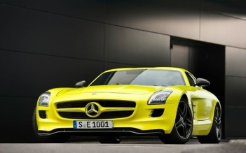 SLS AMG Electric Sports Car